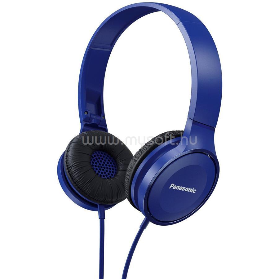 PANASONIC RP-HF100E-A kék fejhallgató