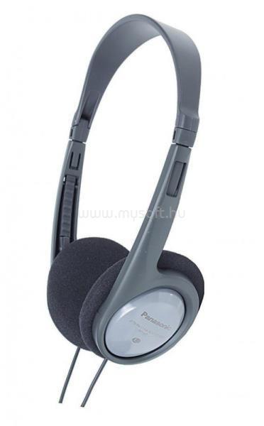 PANASONIC RP-HT010E-H 3.5mm jack fekete-szürke fejhallgató