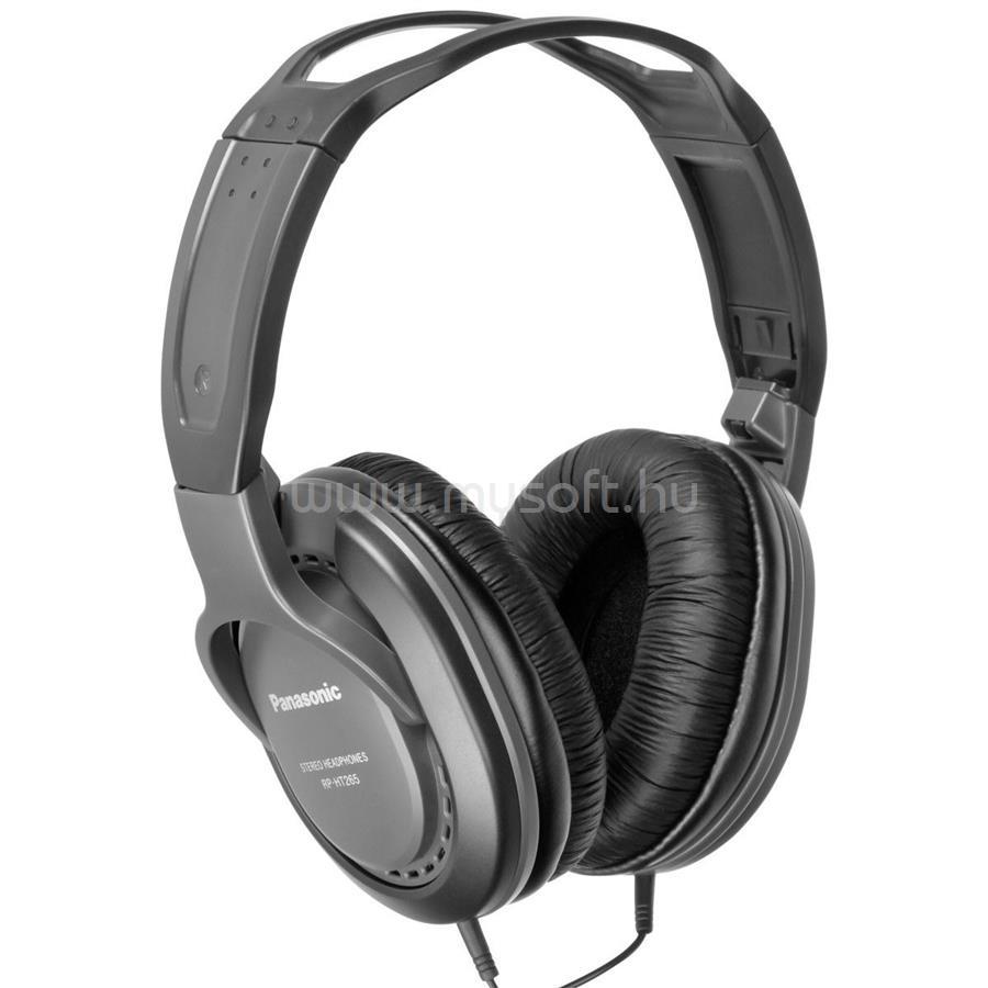 PANASONIC RP-HT265E-K 3.5mm jack fekete fejhallgató