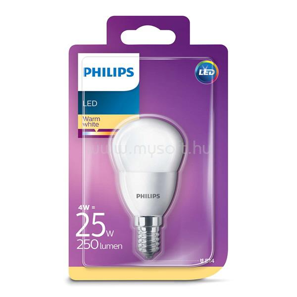 PHILIPS LED Luster 4-25W P45 E14 827 FR ND