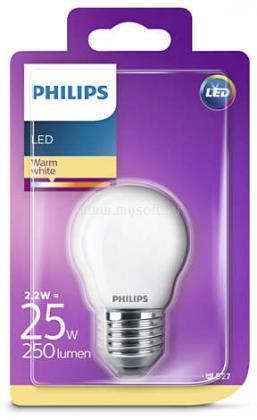 PHILIPS LED izzó Classic Luster 2W E27