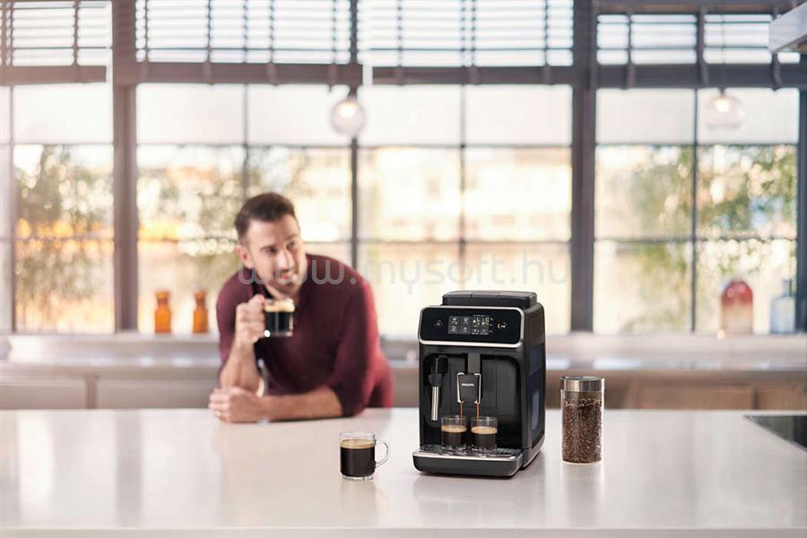 PHILIPS Series 2000 EP2221/40 automata kávégép manuális tejhabosítóval EP2221/40 large
