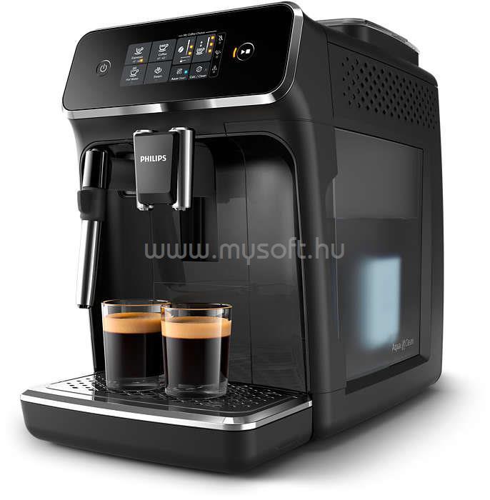 PHILIPS Series 2000 EP2221/40 automata kávégép manuális tejhabosítóval