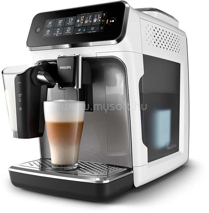 PHILIPS Series 3000 LatteGo EP3243/70 automata kávégép LatteGo tejhabosítóval