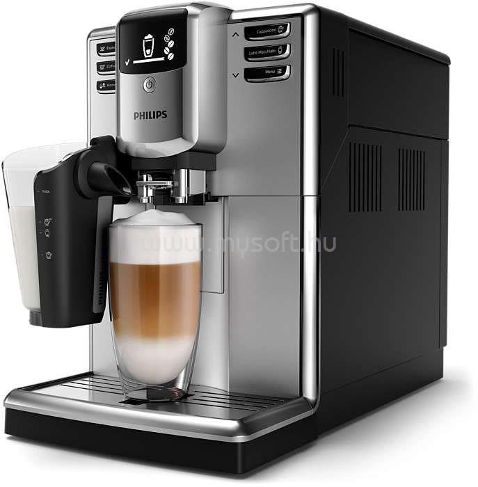 PHILIPS Series 5000 LatteGo EP5333/10 automata kávégép LatteGo tejhabosítóval