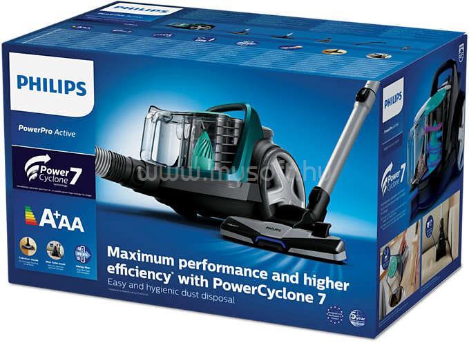 PHILIPS PowerPro Active FC9555/09 porzsák nélküli porszívó FC9555/09 large