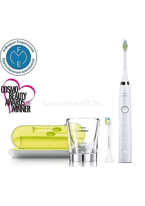 PHILIPS Sonicare DiamondClean HX9332/04 szónikus elektromos fogkefe üvegpohár töltővel