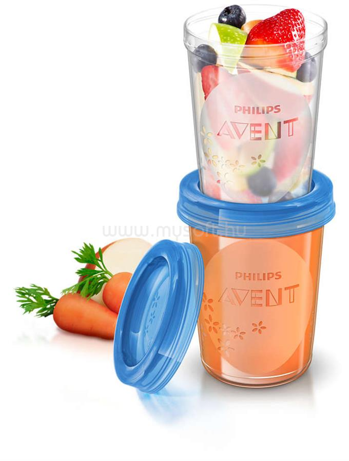 PHILIPS Avent SCF639/05 5 x 240ml VIA Poharak