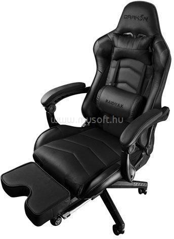 RAIDMAX Drakon DK709 fekete gamer szék