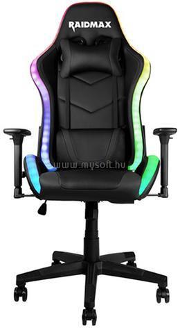 RAIDMAX Drakon DK925 fekete ARGB gamer szék