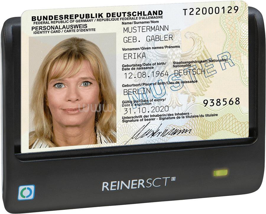 REINER SCT CyberJack Basis RFID E-személyi igazolvány olvasó