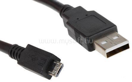 ROLINE kábel USB A - micro B 1.8m, Összekötő