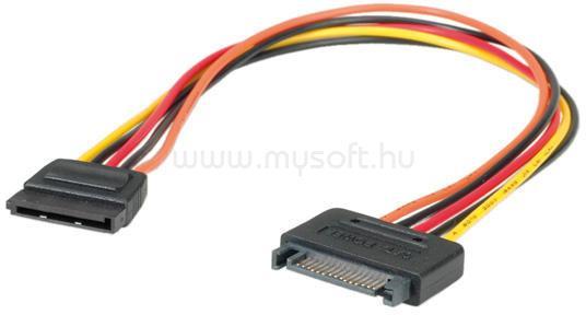 ROLINE kábel SATA táp hosszabbító, 30cm
