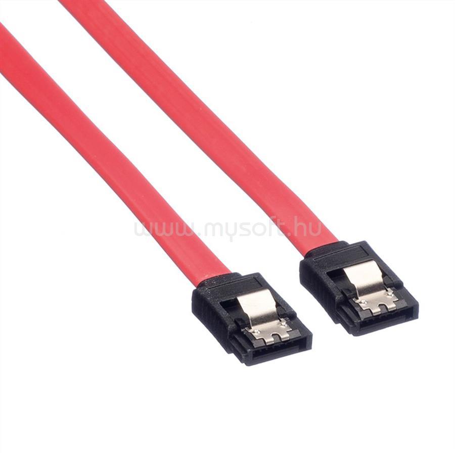 ROLINE kábel SATA - SATA Összekötő, fém csatlakozó 0.5m