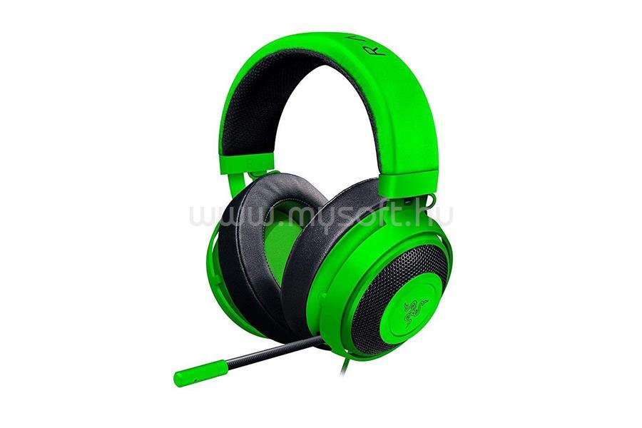 RAZER Kraken Green - Oval headset