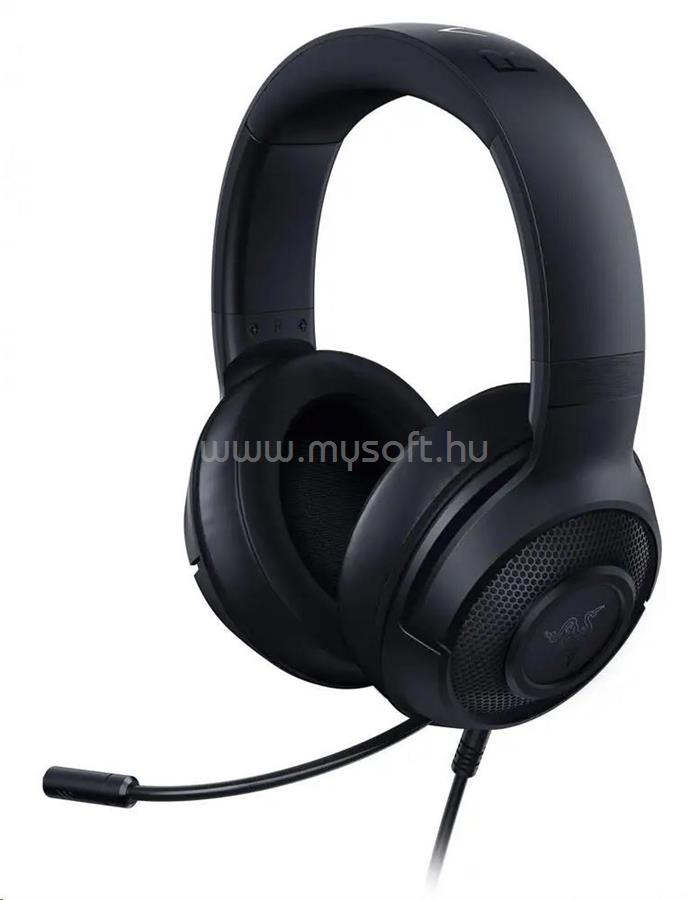 RAZER Kraken X gaming headset fekete