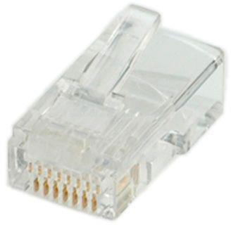 ROLINE LAN UTP RJ45 8P8C dugó - 10db/cs