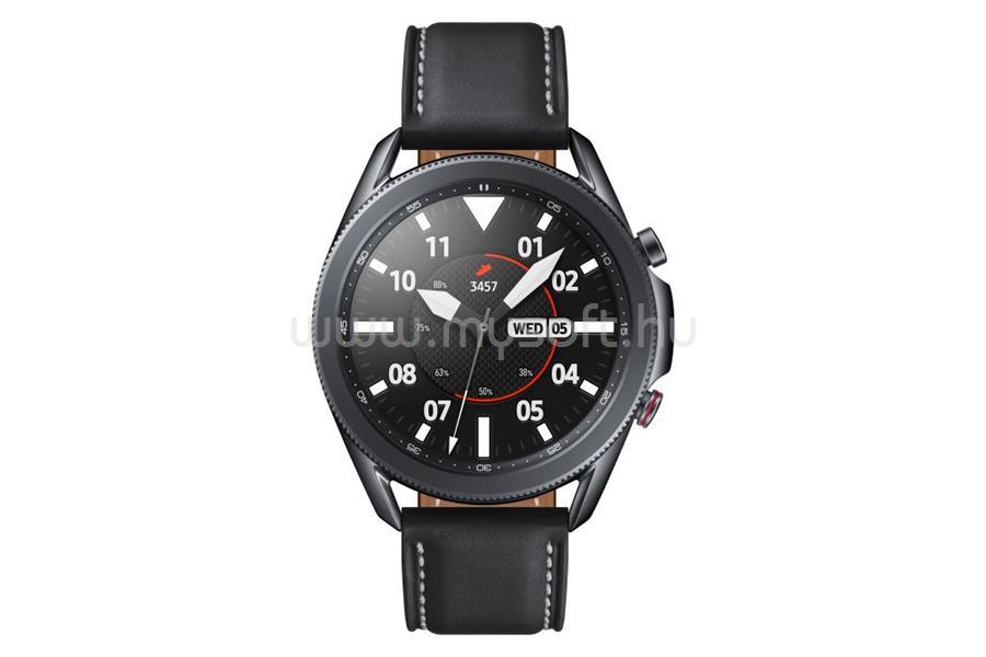 SAMSUNG Galaxy Watch3 okosóra 45mm misztikus fekete (SM-R840NZKAEUE)