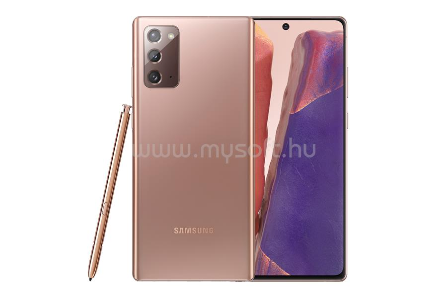 SAMSUNG N980F GALAXY NOTE 20 DS (256GB), BROWN