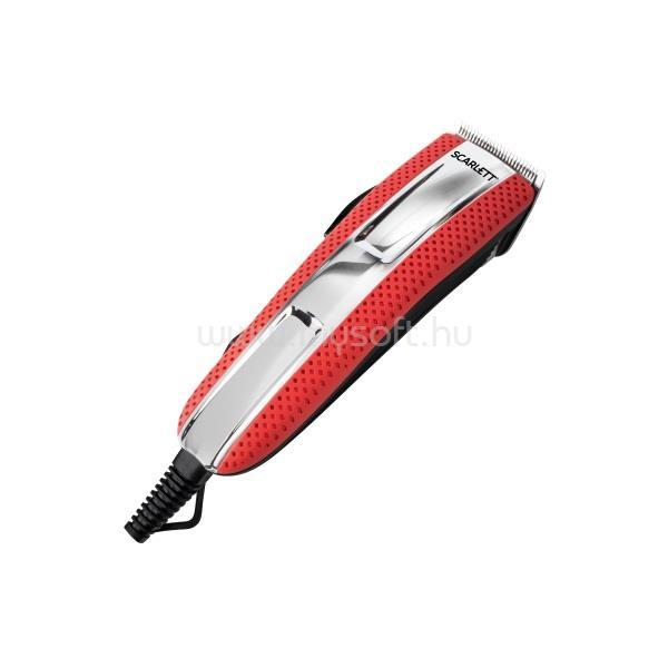 SCARLETT SCHC63C15 7W vezetékes piros hajnyíró