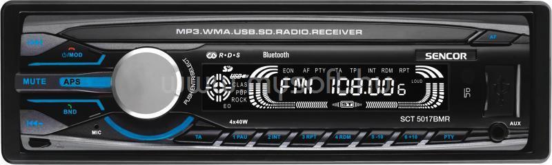 SENCOR Bluetooth autórádió