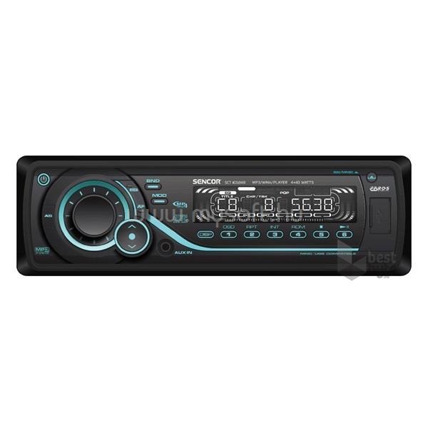 SENCOR MP3/WMA/USB lejátszó autóhifi fejegység