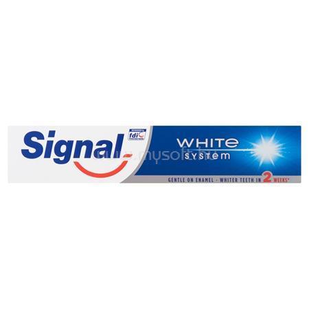 """SIGNAL Fogkrém, 75 ml, """"White System"""""""