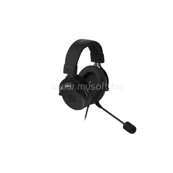 SILENTIUMPC SPC Gear VIRO Plus fekete gamer headset