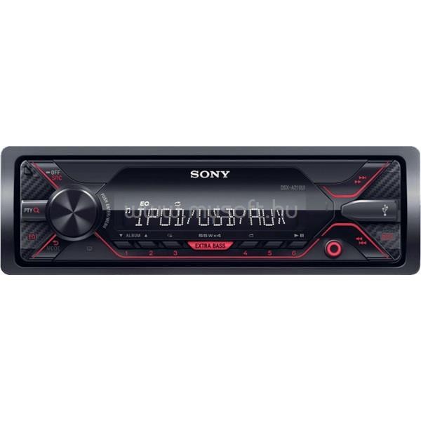 SONY DSXA210UI USB/MP3 lejátszó autóhifi fejegység