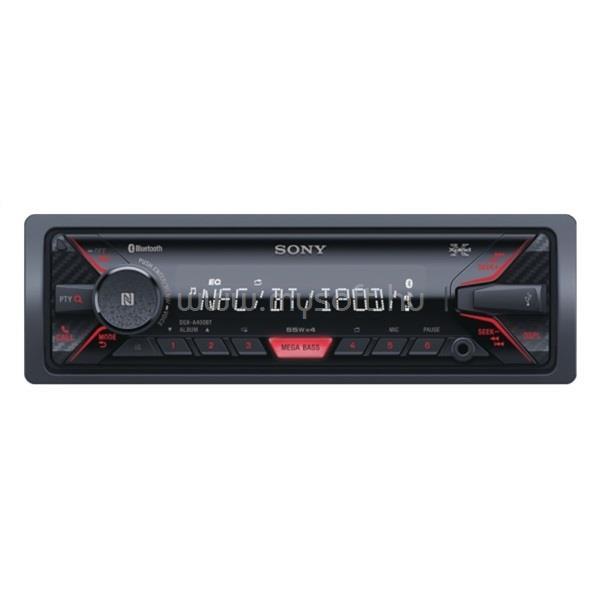 SONY DSXA410BT Bluetooth/USB/MP3 lejátszó autóhifi fejegység