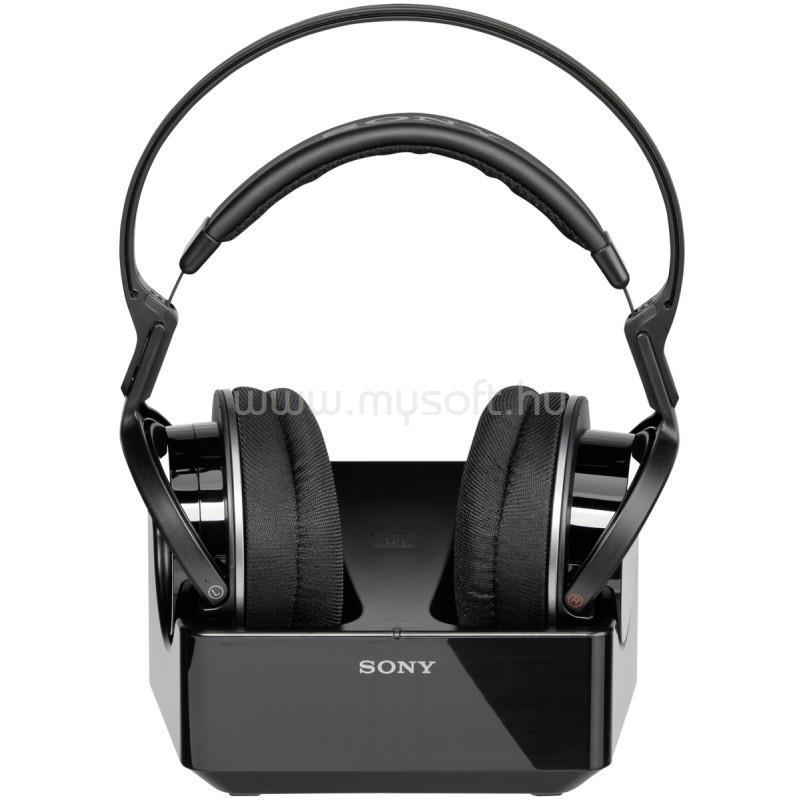 SONY MDRRF855RK Fekete vezeték nélküli fejhallgató