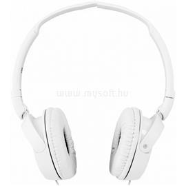 SONY MDRZX110APW Fehér mikrofonos fejhallgató f7af490119