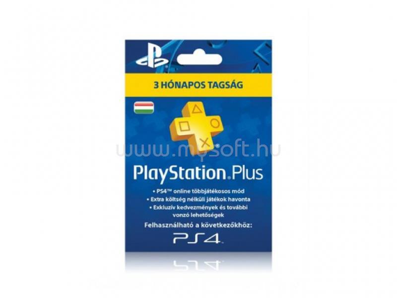 SONY PlayStation 4 PlayStation Plus 90 napos feltöltőkártya
