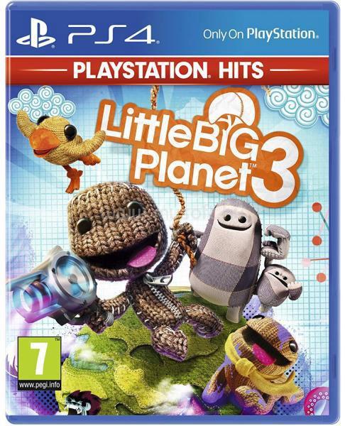 SONY LittleBigPlanet 3 PS4 HITS játékszoftver