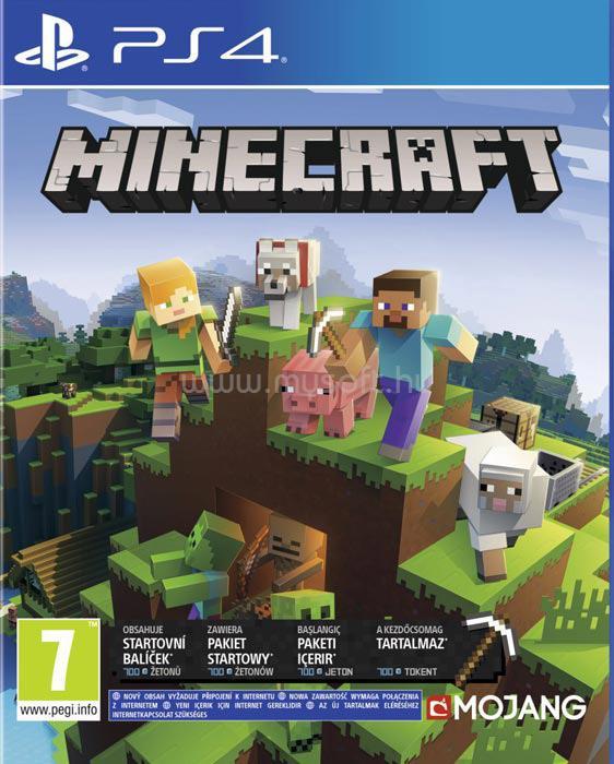SONY PS4 Minecraft Bedrock játékszoftver