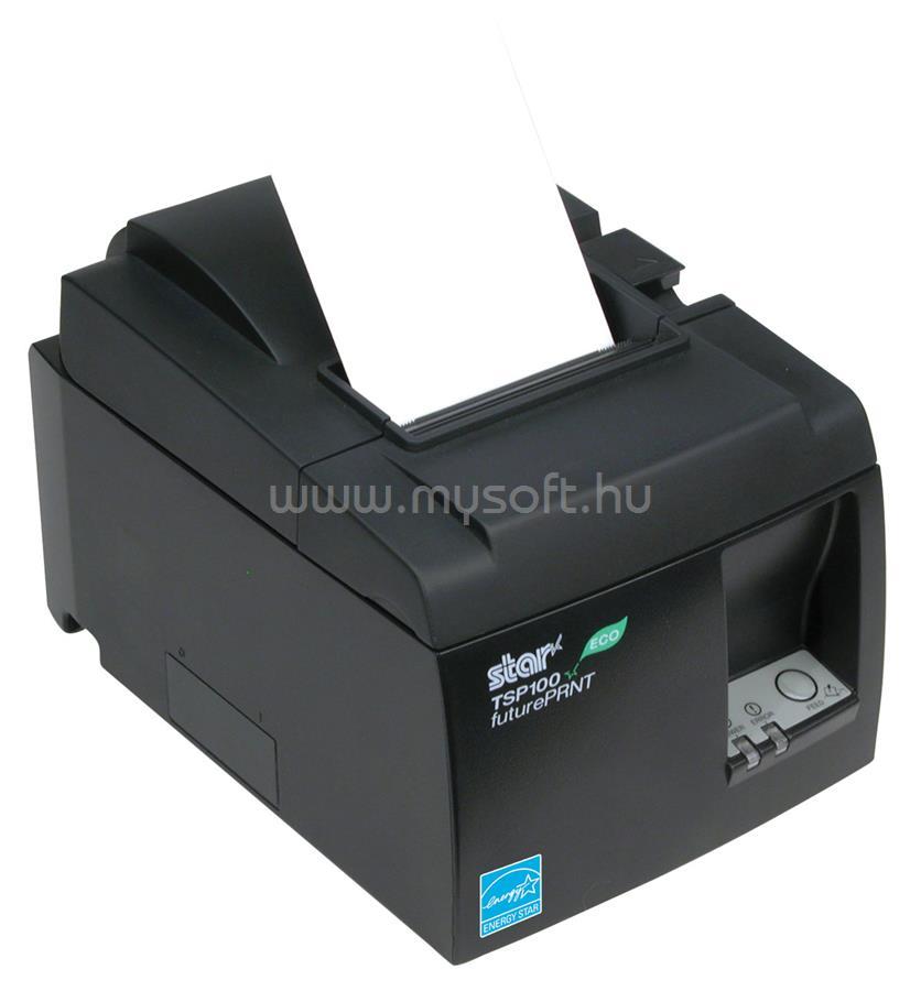 STAR TSP100-II ECO termál blokknyomtató, vágóval - USB port (fekete)