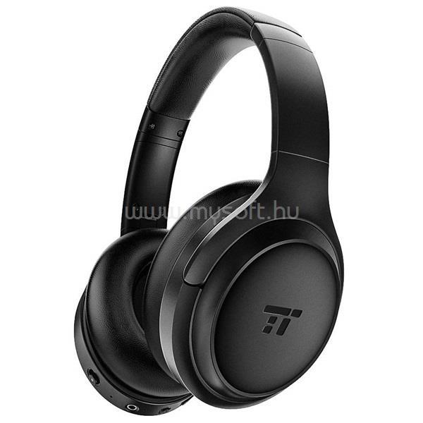 TAOTRONICS SoundSurge Air Bluetooth aktív zajszűrős fekete fejhallgató