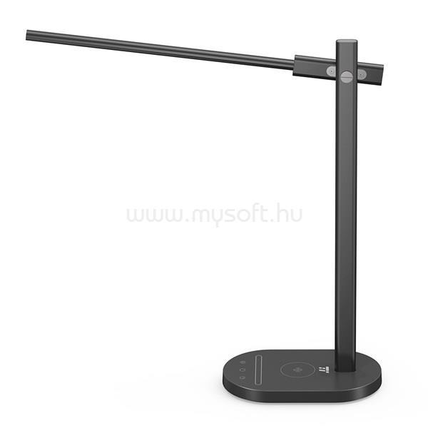 TAOTRONICS TT-DL031 fekete LED lámpa, vezeték nélküli töltővel