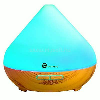 TAOTRONICS TT-AD002 Világítós illóolaj párásító (világosbarna)