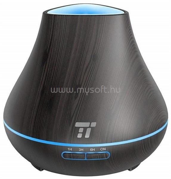 TAOTRONICS TT-AD004 Világítós illóolaj párásító (sötétbarna)