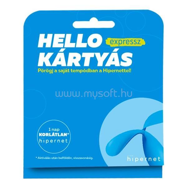 TELENOR Hello Kártyás Expressz csomag