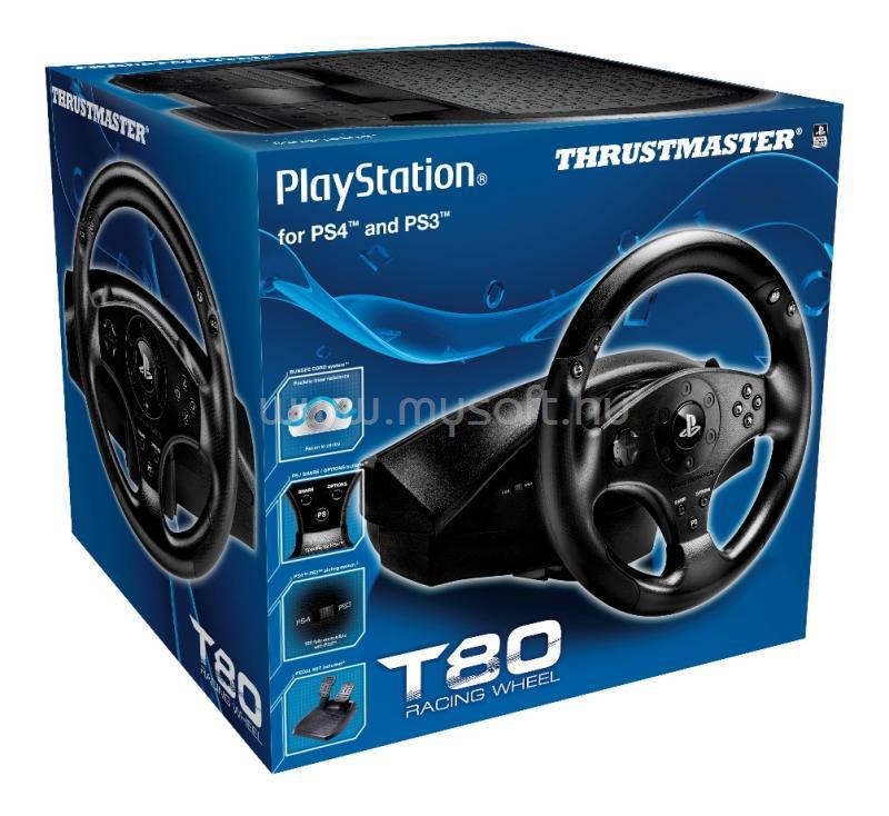 THRUSTMASTER T80 Játékvezérlő Kormány PS4/PS3