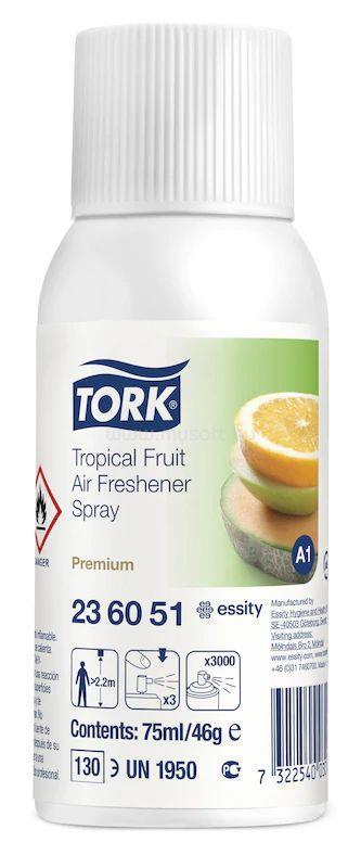 TORK Illatosító spray, 75 ml, trópusi gyümölcs