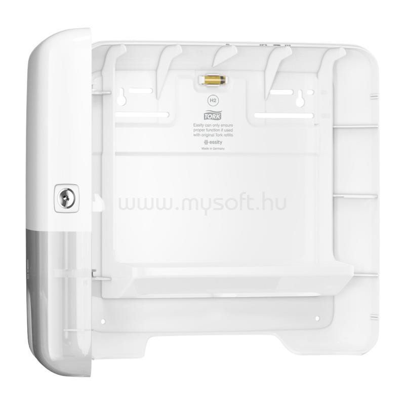TORK H2 rendszer, Elevation Xpress Multifold Mini kéztörlő adagoló, Interfold hajtogatás, fehér 552100 large