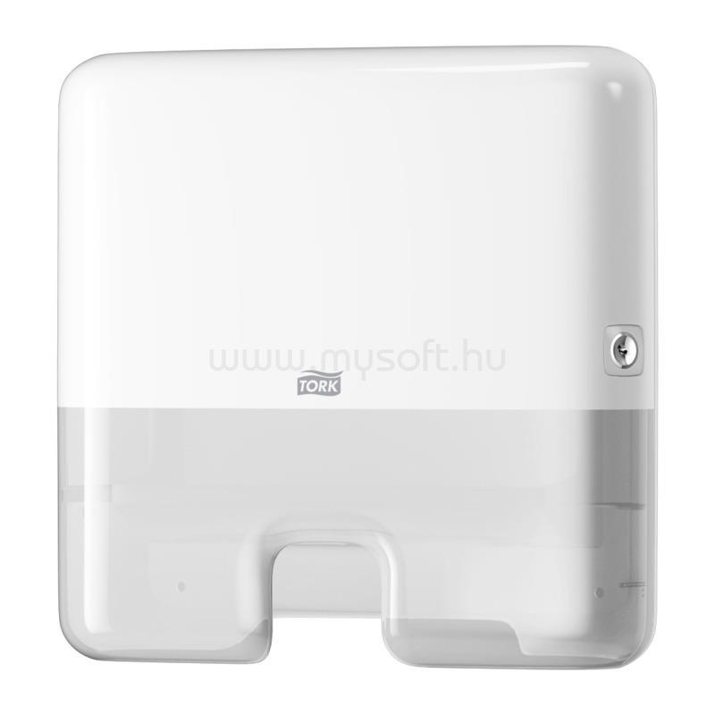 TORK H2 rendszer, Elevation Xpress Multifold Mini kéztörlő adagoló, Interfold hajtogatás, fehér