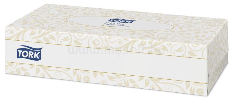 TORK F1 rendszer, Extra Soft kozmetikai kendő, 2 rétegű, fehér (100 lap)