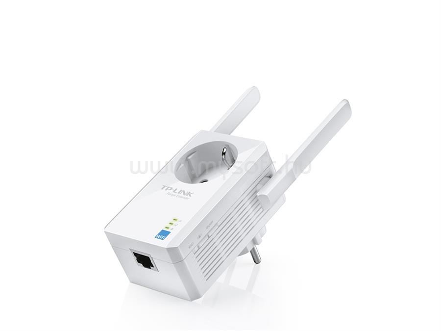 TP-LINK 300Mbps Wi-Fi Lefedettségnövelő Konnektor aljzattal