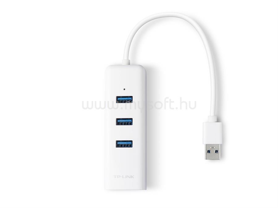 TP-LINK USB 3.0 Hub és Gigabites Ethernet Adapter