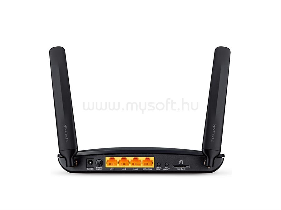 TP-LINK 300 Mbps vezeték nélküli N-es 4G LTE Router TL-MR6400 large