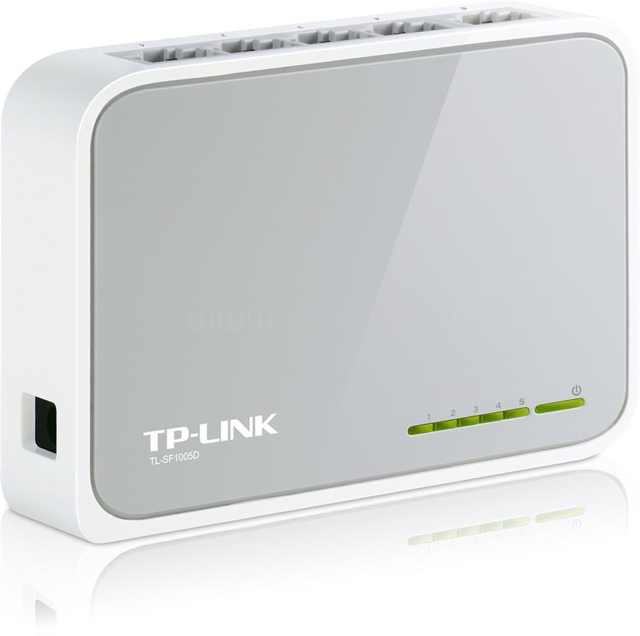 TP-LINK 5 portos 10/100Mbps Asztali Switch
